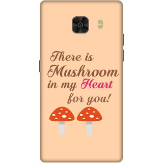 Print Opera Hard Plastic Designer Printed Phone Cover for Samsung Galaxy C9 Pro There is mushroom in my heart for you