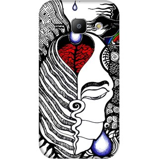 Print Opera Hard Plastic Designer Printed Phone Cover for Samsung Galaxy J1 2015 Artistic