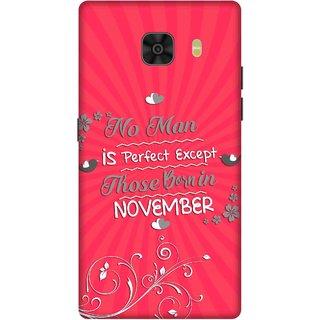 Print Opera Hard Plastic Designer Printed Phone Cover for Samsung Galaxy C9 Pro Perfect man born in november