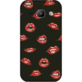 Print Opera Hard Plastic Designer Printed Phone Cover for Samsung Galaxy J1 2015 Lips