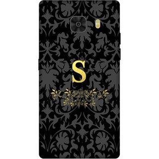 Print Opera Hard Plastic Designer Printed Phone Cover for Samsung Galaxy C9 Pro Alphabet S design