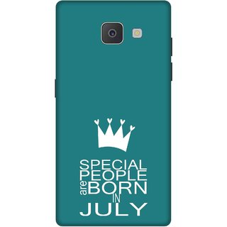 Print Opera Hard Plastic Designer Printed Phone Cover for Samsung Galaxy J7 Prime/Samsung Galaxy On7 2016 Special people are born in july