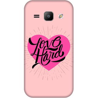 Print Opera Hard Plastic Designer Printed Phone Cover for Samsung Galaxy J1 2015 Love hard