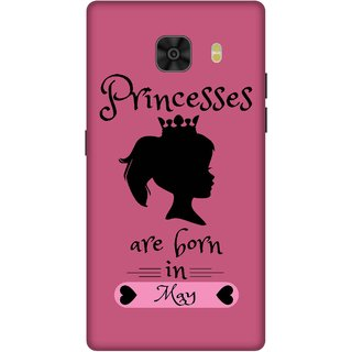 Print Opera Hard Plastic Designer Printed Phone Cover for Samsung Galaxy C9 Pro Princess are born in may