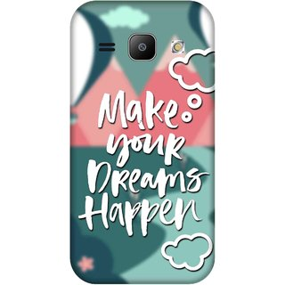 Print Opera Hard Plastic Designer Printed Phone Cover for Samsung Galaxy J1 2015 Make your dreams happen