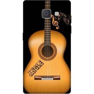 Print Opera Hard Plastic Designer Printed Phone Cover for Samsung Galaxy J7 Prime/Samsung Galaxy On7 2016 Wooden guitar
