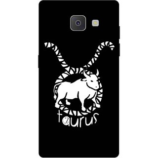 Print Opera Hard Plastic Designer Printed Phone Cover for Samsung Galaxy J7 Prime/Samsung Galaxy On7 2016 Taurus