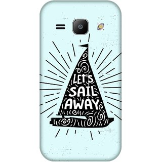 Print Opera Hard Plastic Designer Printed Phone Cover for Samsung Galaxy J1 2015 Let's sail away