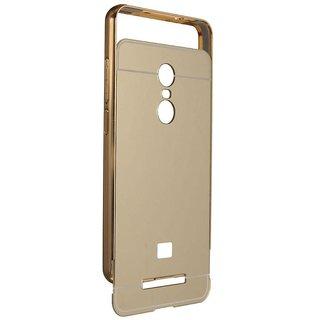 Redmi Note 3 Bumper Cases PWORLD - Golden