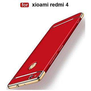 Redmi 4 Plain Cases 2Bro - Red