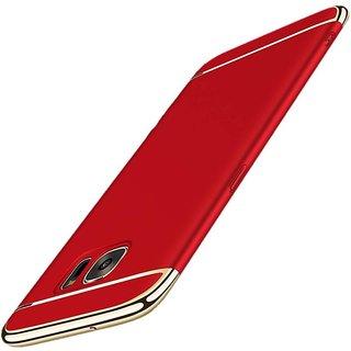 Samsung Galaxy C9 Pro Plain Cases ClickAway - Red