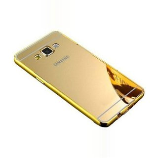 KTC  Golden Mirror Back Cover For Samsung Galaxy A5 (A510-2016) Mobile Phone
