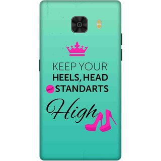 Print Opera Hard Plastic Designer Printed Phone Cover for Samsung Galaxy C9 Pro High heels