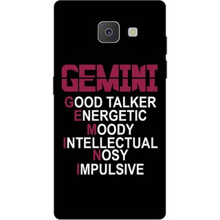 Print Opera Hard Plastic Designer Printed Phone Cover for Samsung Galaxy J7 Prime/Samsung Galaxy On7 2016 Gemini