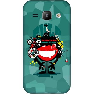 Print Opera Hard Plastic Designer Printed Phone Cover for Samsung Galaxy J1 2015 Everything was fine