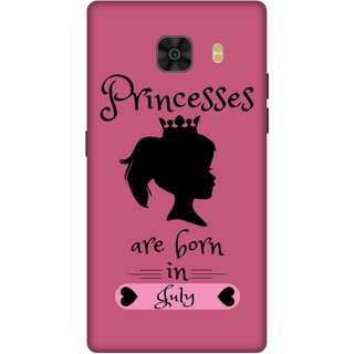 Print Opera Hard Plastic Designer Printed Phone Cover for Samsung Galaxy C9 Pro Princess are born in july