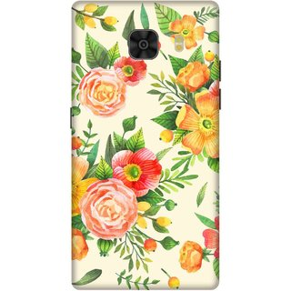 Print Opera Hard Plastic Designer Printed Phone Cover for Samsung Galaxy C9 Pro Playful Floral pattern