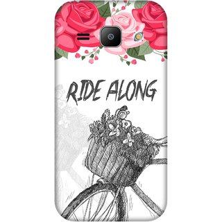 Print Opera Hard Plastic Designer Printed Phone Cover for Samsung Galaxy J1 2015 Ride along