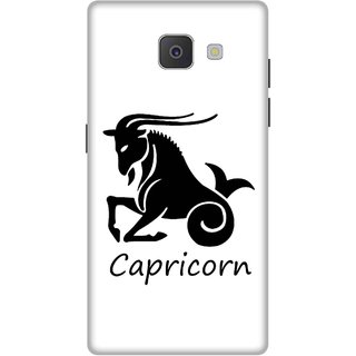 Print Opera Hard Plastic Designer Printed Phone Cover for Samsung Galaxy J7 Prime/Samsung Galaxy On7 2016 Capricorn