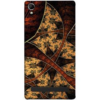 FUSON Designer Back Case Cover For Intex Aqua Power Plus :: Intex Aqua Power + (Colour Canvas For Hall Bedroom Painting Intresting)