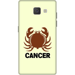 Print Opera Hard Plastic Designer Printed Phone Cover for Samsung Galaxy J7 Prime/Samsung Galaxy On7 2016 Cancer
