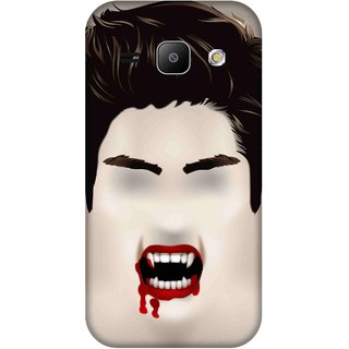 Print Opera Hard Plastic Designer Printed Phone Cover for Samsung Galaxy J1 2015 Halloween bloody scary face