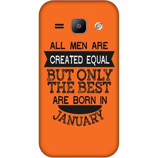 Print Opera Hard Plastic Designer Printed Phone Cover for Samsung Galaxy J1 2015 Best man born in january