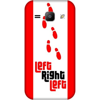 Print Opera Hard Plastic Designer Printed Phone Cover for Samsung Galaxy J1 2015 Left right left