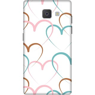 Print Opera Hard Plastic Designer Printed Phone Cover for Samsung Galaxy J7 Prime/Samsung Galaxy On7 2016 Hearts