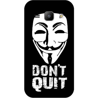 Print Opera Hard Plastic Designer Printed Phone Cover for Samsung Galaxy J1 2015 Don't quit