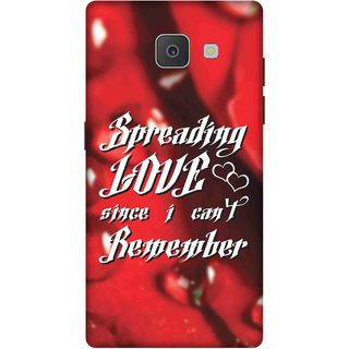 Print Opera Hard Plastic Designer Printed Phone Cover for Samsung Galaxy J7 Prime/Samsung Galaxy On7 2016 Spreading love since i dont remember