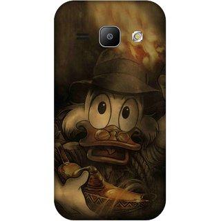 Print Opera Hard Plastic Designer Printed Phone Cover for Samsung Galaxy J1 2015 Cartoon