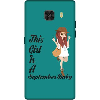 Print Opera Hard Plastic Designer Printed Phone Cover for Samsung Galaxy C9 Pro September Baby Girl