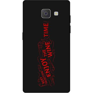 Print Opera Hard Plastic Designer Printed Phone Cover for Samsung Galaxy J7 Prime/Samsung Galaxy On7 2016 Enjoy wine time