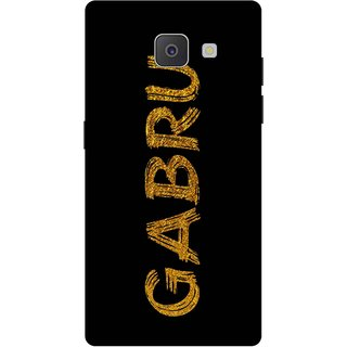 Print Opera Hard Plastic Designer Printed Phone Cover for Samsung Galaxy J7 Prime/Samsung Galaxy On7 2016 Gabru golden texture