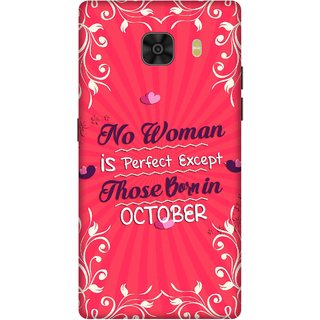 Print Opera Hard Plastic Designer Printed Phone Cover for Samsung Galaxy C9 Pro Perfect Woman Born In October