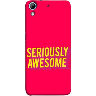 FUSON Designer Back Case Cover For HTC Desire 728 Dual Sim :: HTC Desire 728G Dual Sim (Take Your Dreams Seriously Very Beautiful Best )