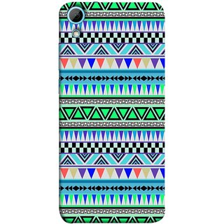 FUSON Designer Back Case Cover For HTC Desire 826 :: HTC Desire 826 Dual Sim (Tribal Patterns Colourful Eye Catching Verity Different )