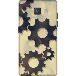 Print Opera Hard Plastic Designer Printed Phone Cover for Samsung Galaxy J7 Prime/Samsung Galaxy On7 2016 Gears texture