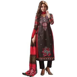 Rich Soft Cotton Salwar Suit Dupatta - Unstitched DressMaterial