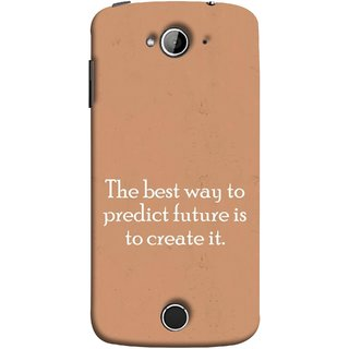 FUSON Designer Back Case Cover For Acer Liquid Z530 :: Acer Liquid Zade Z530S (Yourself Motivational Inspirational Saying Quotes)