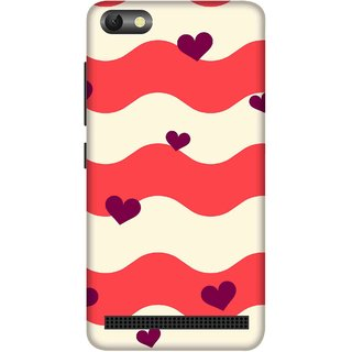 Print Opera Hard Plastic Designer Printed Phone Cover for  Lenovo A2020 Hearts