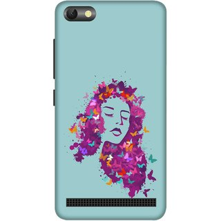 Print Opera Hard Plastic Designer Printed Phone Cover for  Lenovo A2020 Beautiful colourful girl art