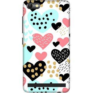 Print Opera Hard Plastic Designer Printed Phone Cover for  Lenovo A2020 Heart birds