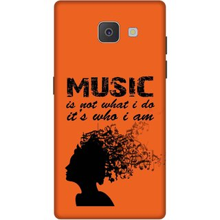Print Opera Hard Plastic Designer Printed Phone Cover for Samsung Galaxy J7 Prime/Samsung Galaxy On7 2016 Music