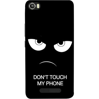 FUSON Designer Back Case Cover For Lava Iris X8 (Nice Best Quotes Words Saying Motivational Angry Eyes)