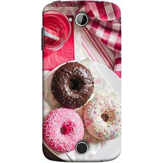 FUSON Designer Back Case Cover For Acer Liquid Z530 :: Acer Liquid Zade Z530S (Glazed Donuts Sweet Desserts Party Cold Soft Drink)