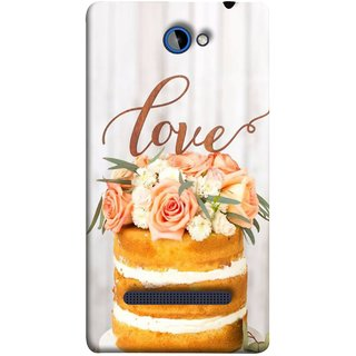 FUSON Designer Back Case Cover For HTC Windows Phone 8S :: HTC 8S (Comes True Love You Forever Valentine Couples Lovers)