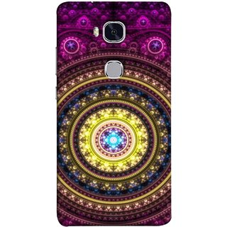 FUSON Designer Back Case Cover For Huawei Honor 5X :: Huawei Honor X5 :: Huawei Honor GR5 (Best Rangoli Patterns Treditional Photo Wallpapers )