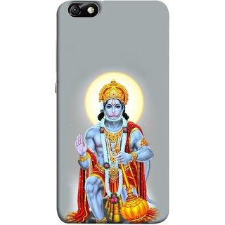 FUSON Designer Back Case Cover For Huawei Honor 4X :: Huawei Glory Play 4X (Hanuman Gadadhari Bajrangi Vayuputra Lord Chalisa)